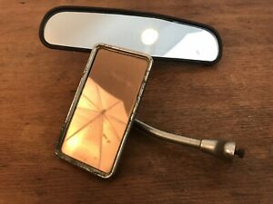 Vintage Side Interior Classic Car Mirrors Set Of 2 Hd13