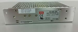 Mean Well Power Supply Switch S60 24 24 V Dc 2a