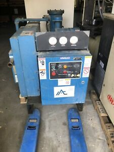 Quincy Air Compressor Qsb 25 Used 460volt