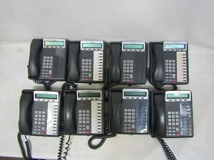 Lot Of 8 Toshiba Digital Business Telephones Model Dkt3210 sd