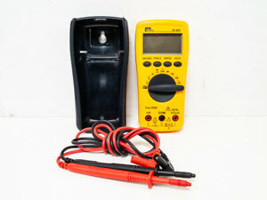 Ideal 61 322 Platinumpro Ac dc Trms Multimeter