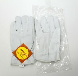 12 Pairs Pip 100 Leather Size Small Industrial Work Gloves Made With Kevlar