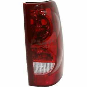 New Tail Lamp Lens And Housing Rh Fits 2003 Chevrolet Silverado 1500 19169003
