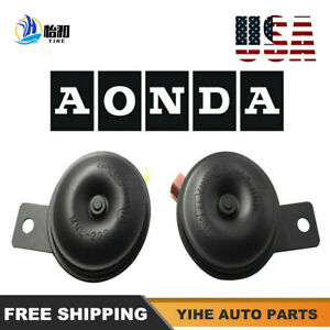 1 Set For Honda Car Horn Accord Odyssey Fit City Crv Civic Pilot New
