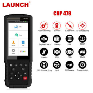 Launch X431 Crp479 Automotive Scanner Obd2 Code Reader Wifi Update Touch Screen