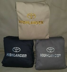 Toyota Highlander 2008 2013 3 Rows Seat Covers Full Set