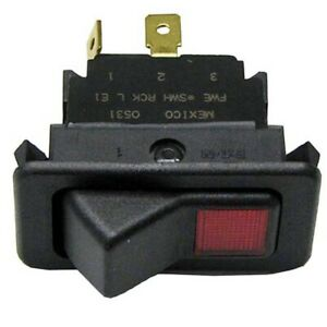 Fwe Oem swh Rck L E1 Swh Rck Le1 On off Lighted Rocker Switch 20a 125 277v