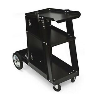 Metal Rolling Mobile Steel Arc Mig Welder Welding Tool Tank Shop Rack Cart