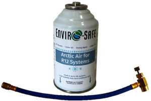 R12 R 12 Refrigerant Support Cold Air Booster Artic Air 1 Can And Hose
