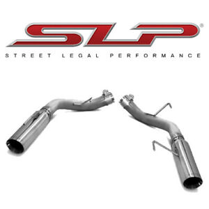 2005 2010 Mustang Gt Gt500 Loudmouth Axle Back Exhaust 3 5 Tips Slp M31014