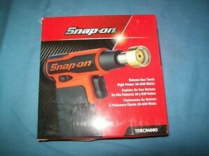 New Snap On Torch 400 Torch400o Butane Gas Torch Open Box