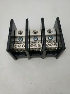 Square D 9080lba362106 Power Distribution Block 3 Pole 1 Line 6 Load 600 new