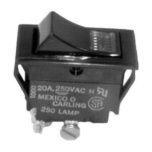 Crescor Lighted Rocker Switch