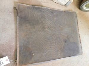 International Harvester 806 Tractor 25 1 4 X 20 Front Grill Screen Tag 496
