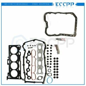 Fits 2007 2013 Jeep Patriot Dodge 1 8l 2 0l Head Gasket Set oil Pan Gasket
