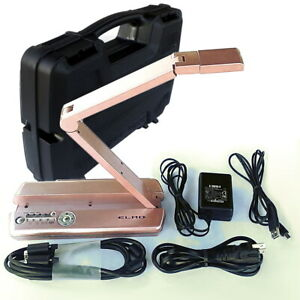Elmo Mo 1 Pink Visual Presenter Document Camera 1337 3 With Hard Case And Cables