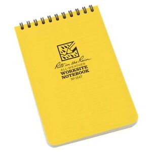 Rite In The Rain 1547 All weather Worksite Universal Spiral Notebook 4 X 6