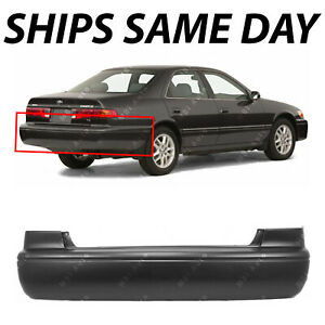 New Primered Rear Bumper Cover Replacement For 2000 2001 Toyota Camry 00 01