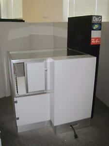 Jewelry 40 Store Retail Glass Gray Display Case Showcase Attachments Drawer