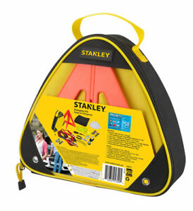 Stanley Emergency Roadside Kit W Booster Cables Headlamp 12ft Strap