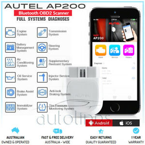 Autel Ap200 Bluetooth Obd2 Android Iphone Diagnostic Scanner Tool Fi