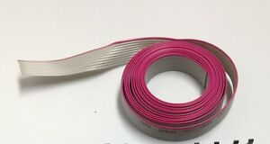 Flat Cable 12 Pin 12 Wires Idc Ribbon Roll 12 Ft Long 15mm Wide