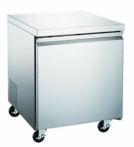 Counter Work Top Commercial Cooler 27 Under Counter Freezer New Nsf Etl
