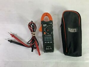 Klein Tools Cl210 Digital Ac Auto Ranging Temp Clamp Meter Works Perfect