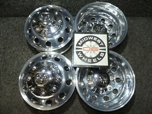 2019 2020 Dodge Ram 3500 17 Dually Wheels Polished Aluminum Oe 8x200 19 20 Only