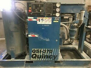 Quincy 75 Hp Qsi 370 Rotary Screw Compressor