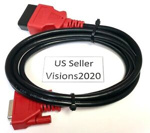 6ft Snap On Scanner Da 4 Compatible Obd2 Data Cable 4 Solus Ultra Eesc318