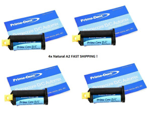 4 Prime Dental Dc Automix Core Build up Material 50g Refill Natural A2 Fastship