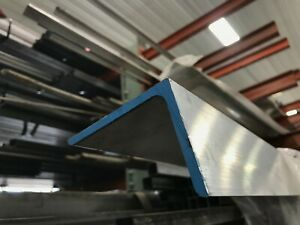 6061 T651 Aluminum Angle 3 x 5 x 36 Long 1 4 Thick