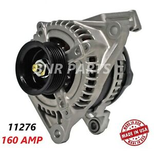 160 Amp 11276 Alternator Dodge Mitsubishi Ram New High Output Hd Usa