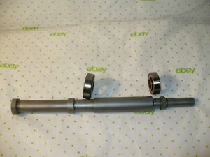 Delta Rockwell Machinery 6 X 48 Belt Sander Lower Drum Shaft Driveshaft