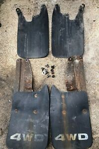 1995 2004 Toyota Tacoma Truck 4x4 Front Rear Mud Flaps Splash Guards Set Oem