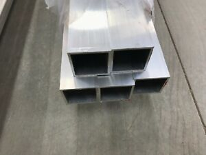1 1 2 X 1 1 2 X 1 8 Wall 6063 T52 Aluminum Square Tube 48 Piece