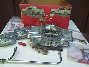 Barry Grant Silver Claw Model 60 Gas Track Master Oval Track Carburetor 750