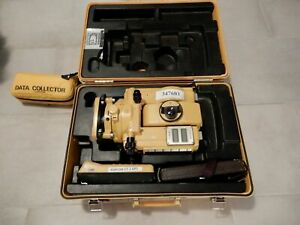 Topcon Et 1 Total Station Degital W Data Collector And Other Accessories