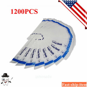 1200pc Disposable Dental Intraoral Camera Sleeves sheaths covers Fit Dentist Usa