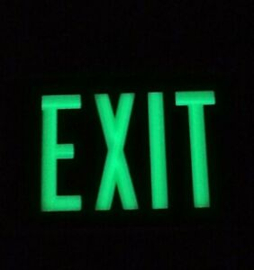 Isolite Self luminous Exit Sign 1 Sided