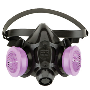 Honeywell Half face Respirator With Nosecup North Size M