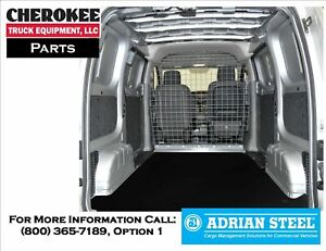 Adrian Steel P2nv2fw Wire Partition Gray City Express Nv200