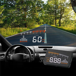 Car Head Up Display Ii Hud Projector Speedometer Mph Km H Speed Warning Ywca Jb