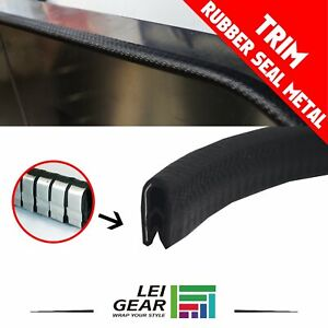 Cars Rv Parts Rubber Door Seal Lock Window Trunk Soundproof Metal Edge Trim 120