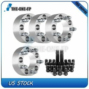 For Jeep Liberty 11 12 2 5x4 5 To 5x4 5 1 2 Wheel Spacers 23pc Lug Nuts 2 Keys