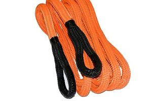 3 4 30ft Kinetic Recovery Tow Rope Heavy Duty Vehicle Tow Rope For Truck