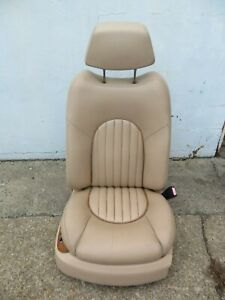 1999 2004 Bentley Arnage Front Right Passenger Side Complete Seat Leather Oem