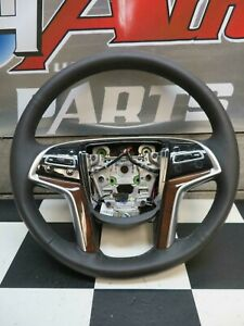 2015 2019 Cadillac Escalade Esv Steering Wheel Black Leather 84310987