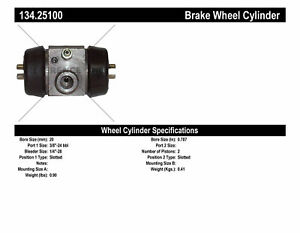 Premium Wheel Cylinder Preferred Fits 1962 1980 Mg Mgb Centric Parts